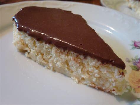flan noix de coco chocolat