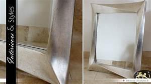 Grand Miroir Design : grand miroir argent design effet vieilli 100 cm int rieurs styles ~ Teatrodelosmanantiales.com Idées de Décoration