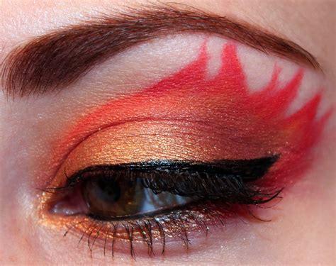 luhivys favorite hunger games inspired makeup
