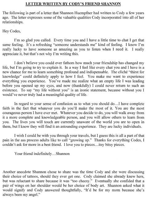 letter   friend levelings