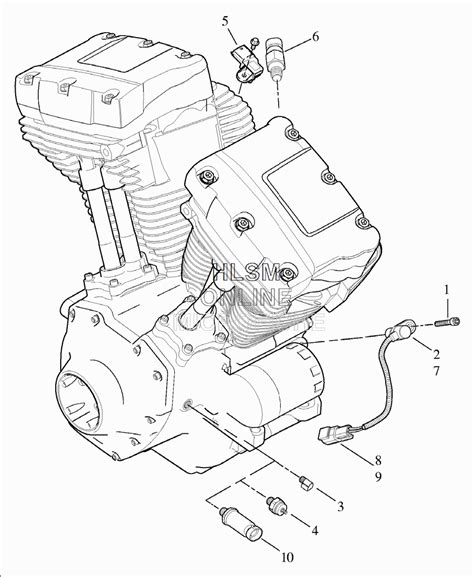 Engine Schematic 1996 Harley Ultra by 2009 103 Engine Temperature Sensor Failure Harley