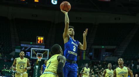 donovan sims mens basketball middle tennessee state