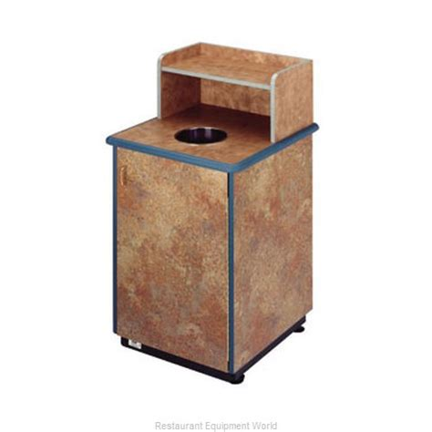 restaurant trash can cabinet plymold 80112de trash container cabinet