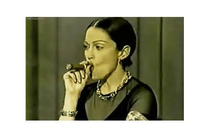 Madonna Cigar 1994 Gifs Censored Letterman David