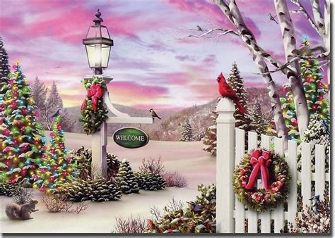 17 inch lighted church scene with colorful rice lights welcome alan giana 18 boxed cards by lpg greetings boxed cards
