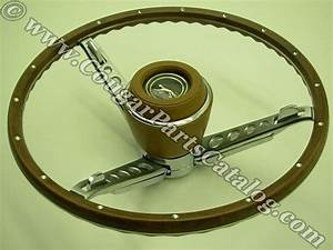 1967 Reproduction 3 Spoke Cougar Steering Wheels  Say What