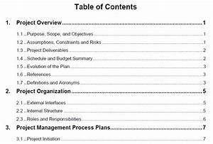 week 3 project integration management and the role of the With project integration management plan template