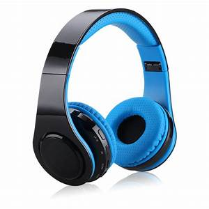 New Over-ear Wireless Bluetooth LED Stereo Headphones ...