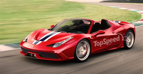 Top Speed 458 by Report 458 Speciale Spider Limited To 458 Units