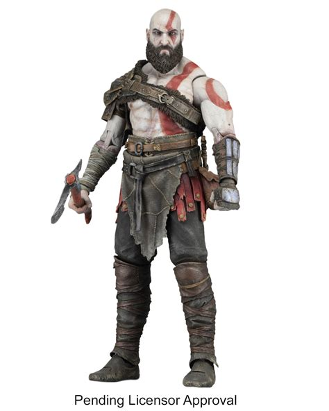 Sdcc 2017 Neca Official Pics And Info For God Of War 4