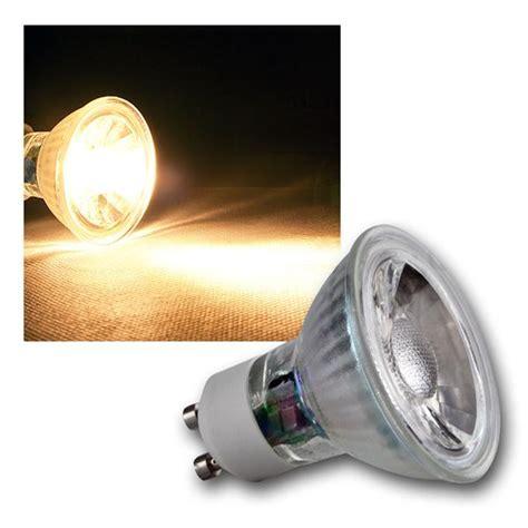 led strahler gu10 led glas leuchtmittel mr16 gu10 3w 5w cob highpower leds birne strahler ebay