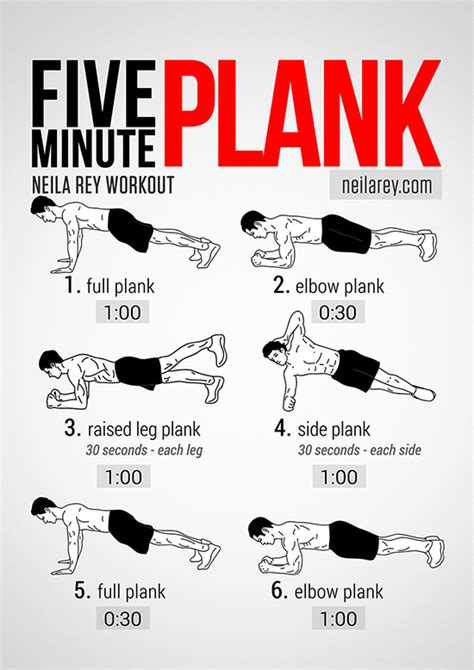 best 5 minute ab workouts for but efficient
