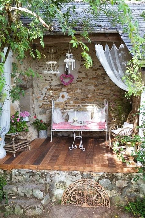 shabby chic patio top 14 shabby chic garden decors start a backyard with