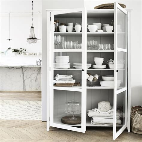 white kitchen display cabinet stylish storage solutions for kitchens bedrooms rock 1370