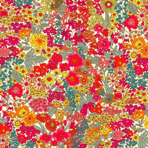 Liberty Print Upholstery Fabric by Liberty Fabric Margaret B Tana Lawn By