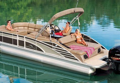 reclining wingback r series performance pontoon boats by bennington