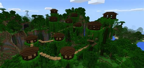 treehouse creation minecraft pe maps