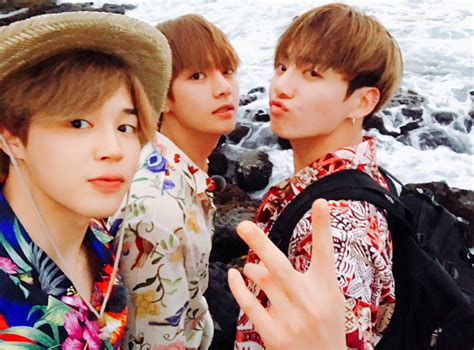 Jimin, V And Jungkook Twitter August 6, 2017.png