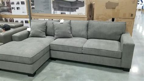 Bainbridge Fabric Sectional Costco  Home Ideas