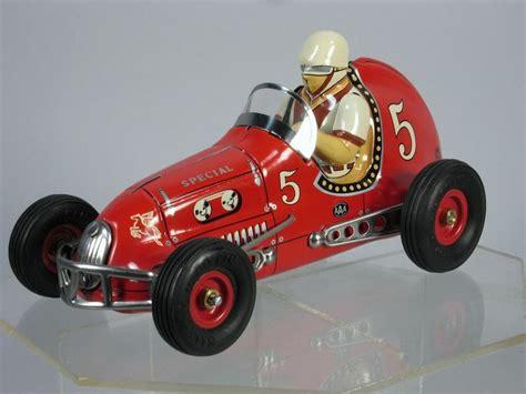 japanese race cars japan tin racer etco sanyo toy yonezawa race car mint