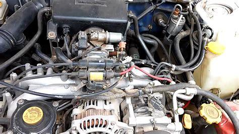 how cars engines work 1997 subaru impreza parking system 1998 subaru impreza gc3 ej16 blown engine knock youtube