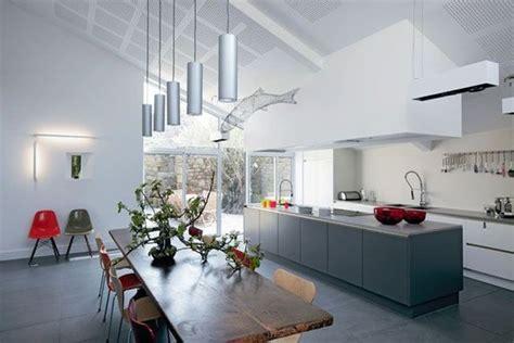 lumiere de cuisine ouvrir la cuisine sur la salle à manger les 40 idées