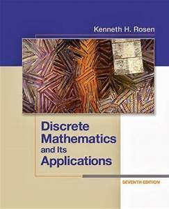 Solution Manual Discrete Mathematics And Its Application