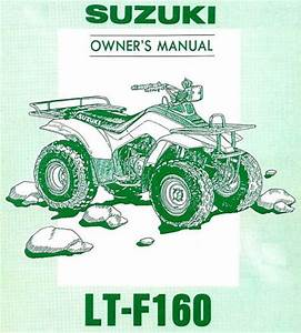Sell 1994 Suzuki Lt-f160 Quadrunner Atv Owners Manual