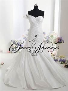 Robe De Mariee Sirene : robe de mariee sirene en drap de taffeta sunny mariage ~ Melissatoandfro.com Idées de Décoration