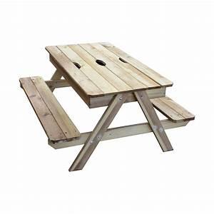 Table Picnic Bois Pas Cher : bac sable achat vente de bac pas cher ~ Melissatoandfro.com Idées de Décoration