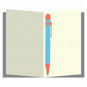 Free to Use & Public Domain Notebook Clip Art