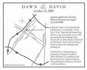 Custom maps wedding maps special day guests for Sample wedding invitation maps