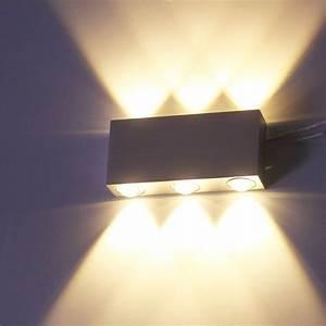 Up And Down Lampen Aussen : 16 vingo 6w wandlampe led flur wandleuchten aluminium ~ Whattoseeinmadrid.com Haus und Dekorationen