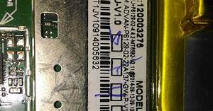 T1j  Model P6129 Hardbrick Salah Instal Firmware Tidak