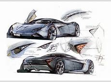 Marussia 2009 Supercar Sketches