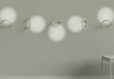angelic architectural lighting via wall mounted led rings