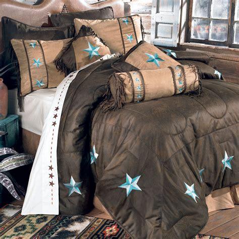 Western Bedding: Full Size Turquoise Laredo Bed Set Lone