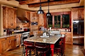 log cabin kitchen log cabin love pinterest