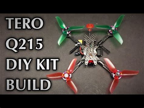 tero  fpv racing rc drone kit flying fast  quadcopter source