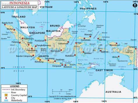 indonesia map travelquazcom