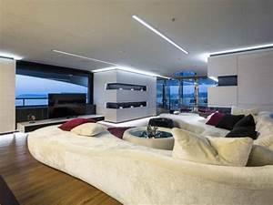 Wohnzimmer Einrichtung Modern : luxus wohnzimmer modern ~ Sanjose-hotels-ca.com Haus und Dekorationen