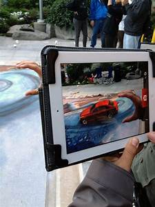 Cadillac ATS 3D Street Paining And Augmented Reality 3D