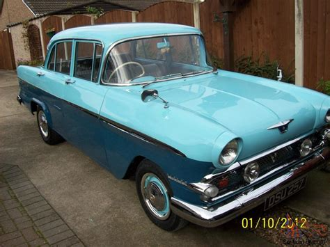 vauxhall victor vauxhall victor f type deluxe 1959