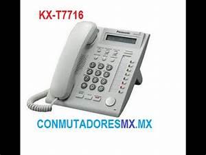 Kx T7716 Tel U00e9fono Unil U00ednea Panasonic