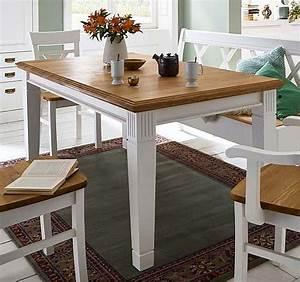 Tischplatte 120x80 Weiß : esstisch 120x80cm feste platte kiefer massiv reinwei lackiert wildeiche ge lt ~ Markanthonyermac.com Haus und Dekorationen