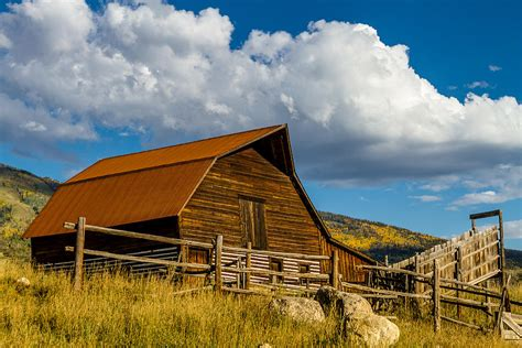Steamboat Springs Barn by Historic Barn Steamboat Springs Co Photograph By