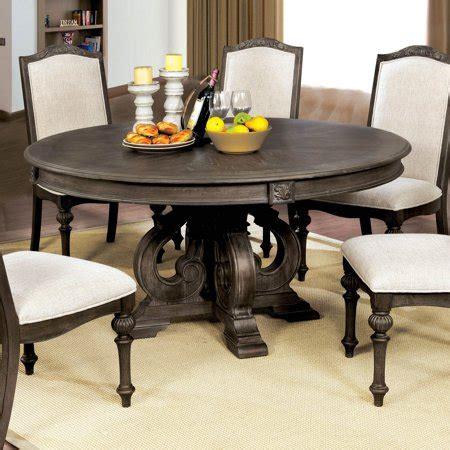 furniture  america bancroft  dining table walmartcom