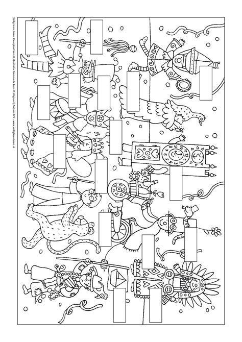 Kleurplaat Woorden by Kleurplaat Kern 8 Met Opdracht Veilig Leren Lezen