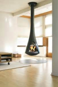 Hanging Ceiling Tiles by 25 Hanging Fireplaces Adding Chic To Contemporary Interior