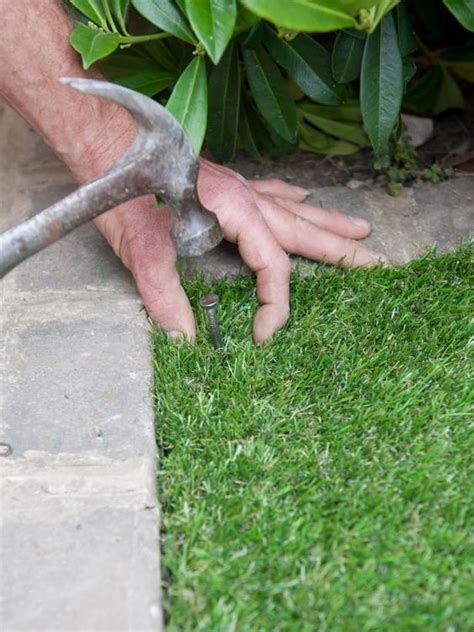 installing artificial lawn tips  guide  eco